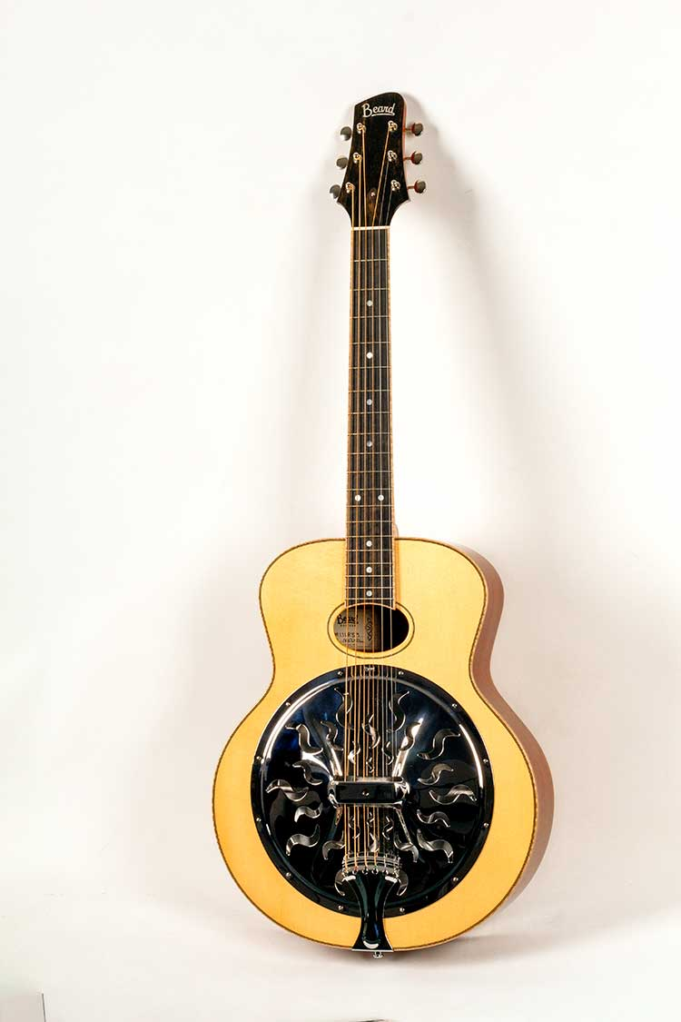 Magic of resonator guitars