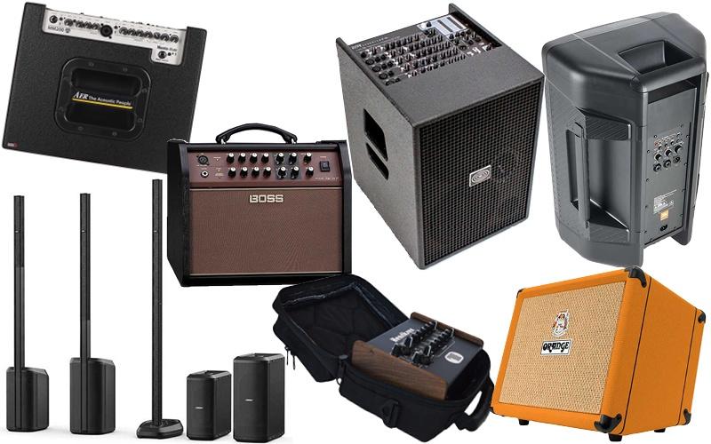 Acoustic Guitar amp roundup