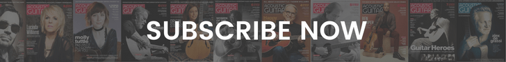 subscribe to acoustic guitar magazine - for guitarists of all levels and styles